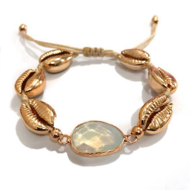 Sunset Seashells Bracelet