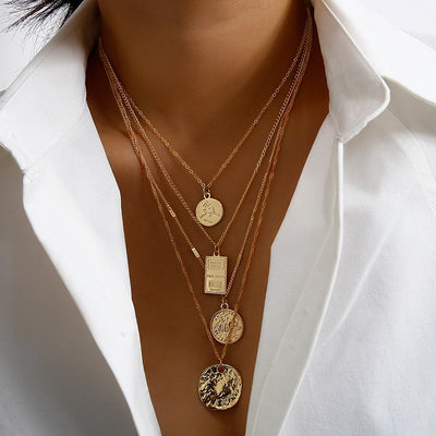 Pax Layered Necklace