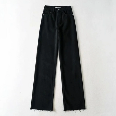 Cabana High Waisted Denim Pants