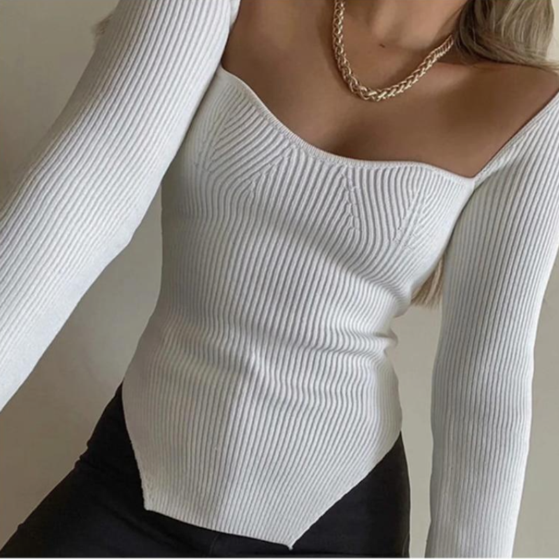 Halsey Knitted Top