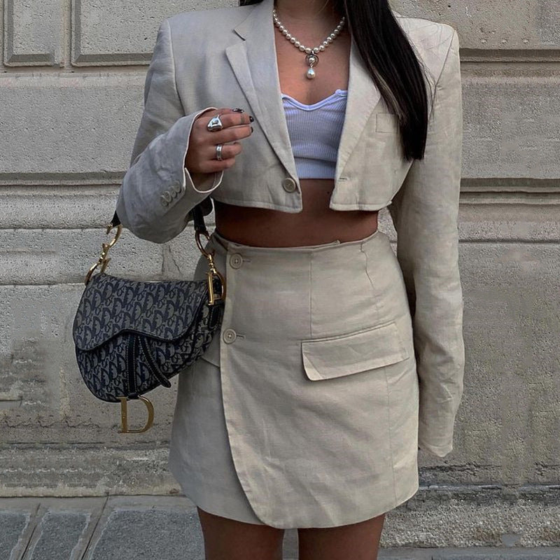 Siren Blazer Two Piece Set