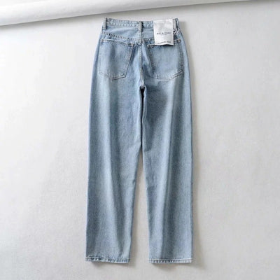 Ronnie High Waisted Denim Pants