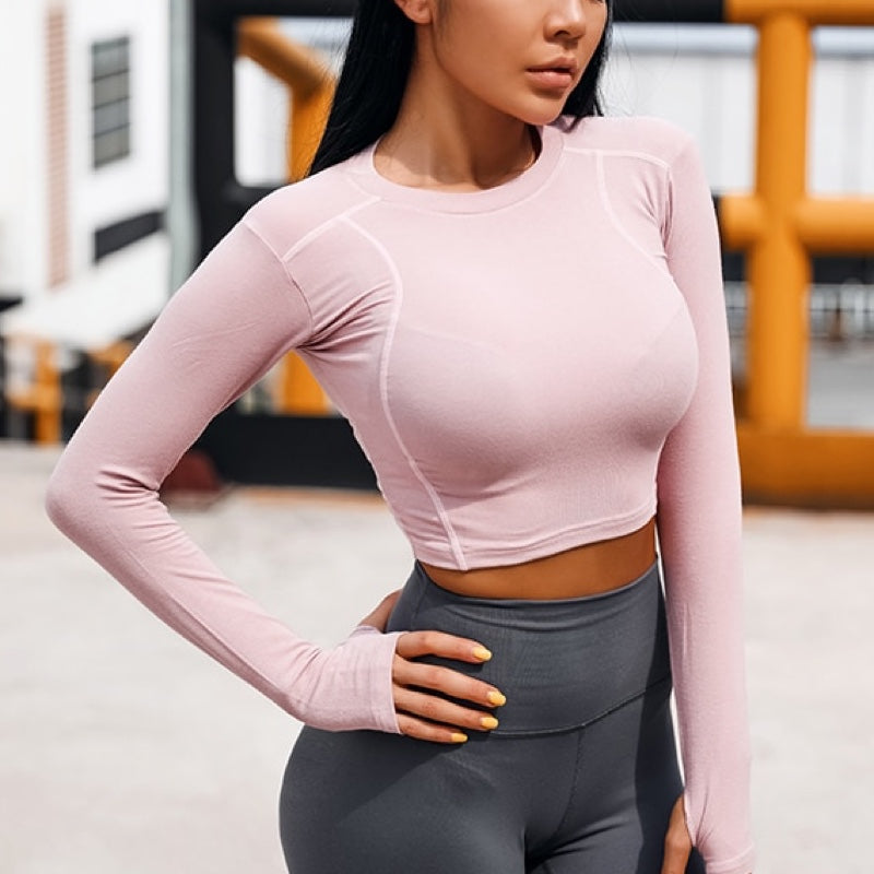 Hanna Long Sleeves Sports Top