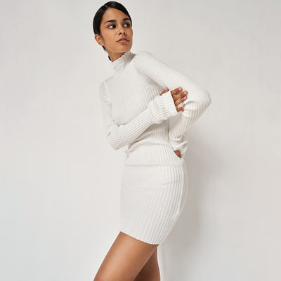 Pippa Ribbed Dress