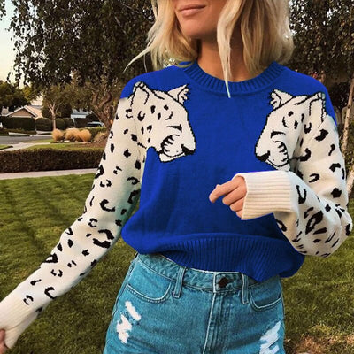 Marce Leopard Sweater