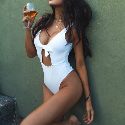 Sardinia Swimsuit | Cream