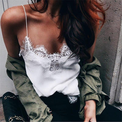 Zinnia Lace Top