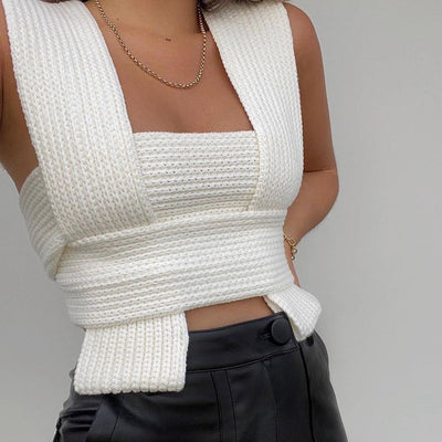 Dillon Multi-Way Knitted Top