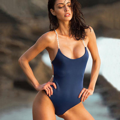 Sicily Swimsuit | Navy