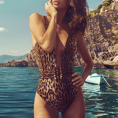 Nica Belted Swimsuit
