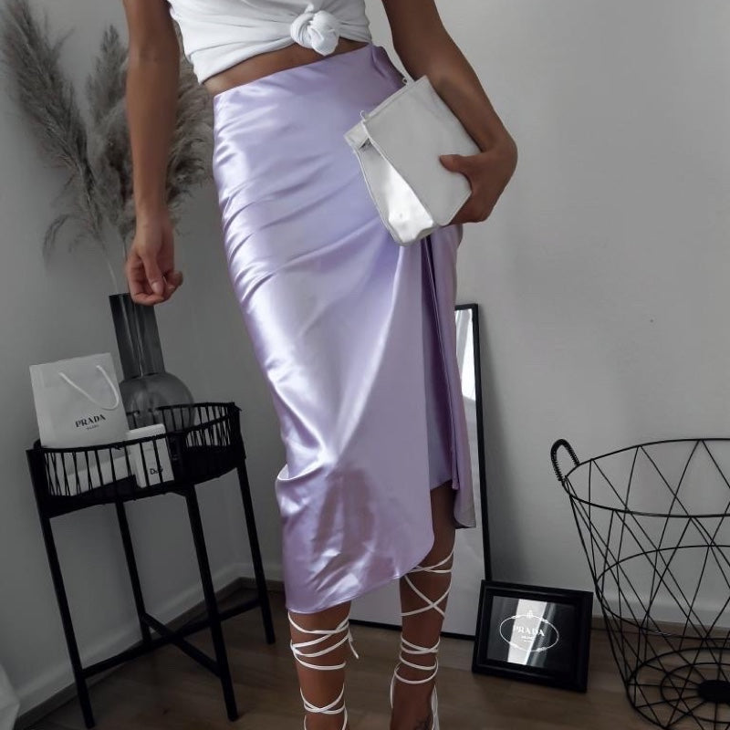 Julia Satin Skirt