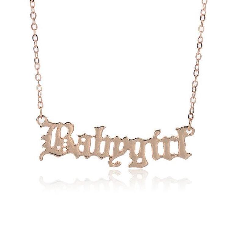 Babygirl Necklace