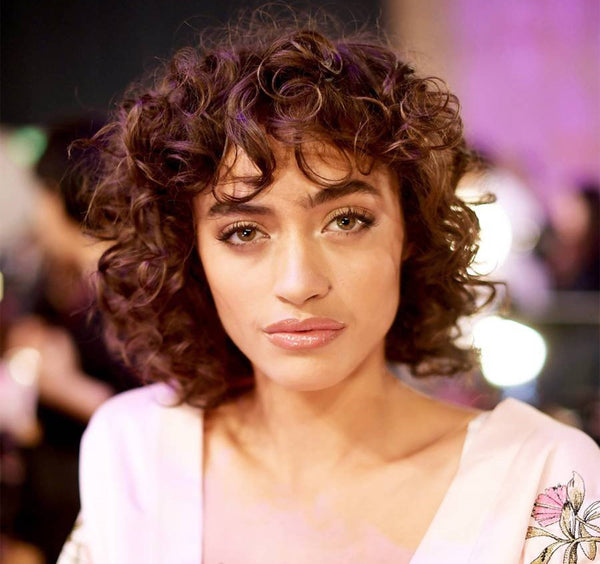 Best Curly Hairstyles With Bangs