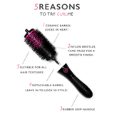 CurlME Detachable Hair Brush Starter Set