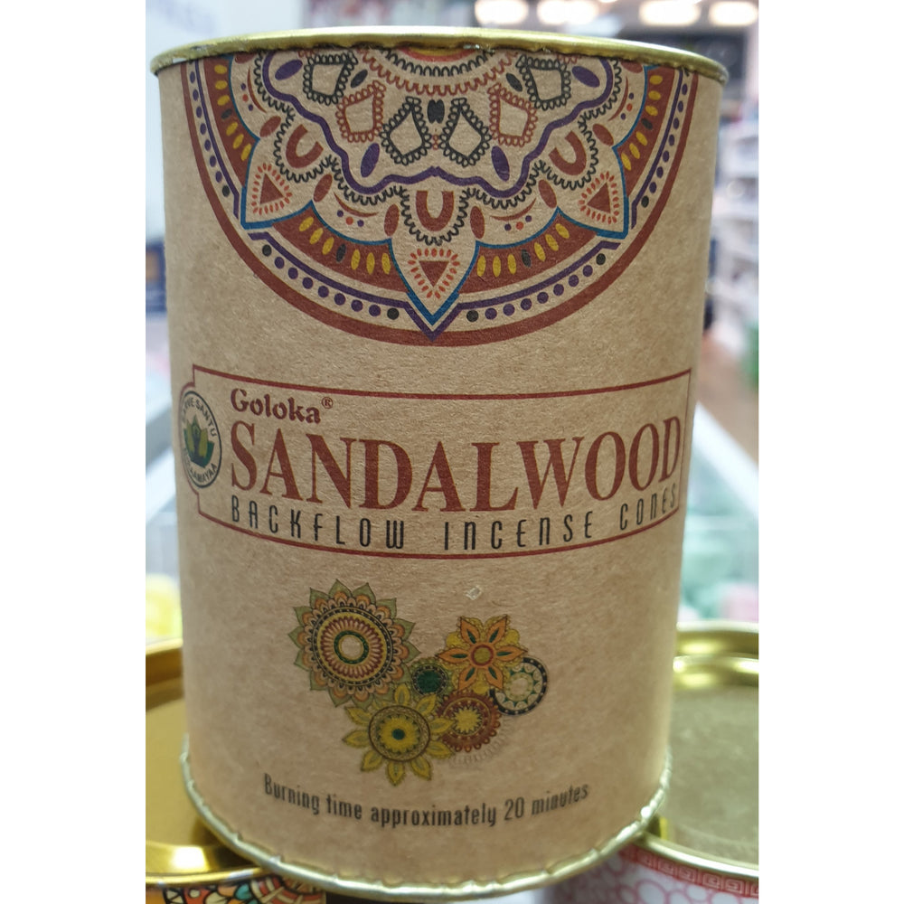 Sandalwood Backflow Incense Cones