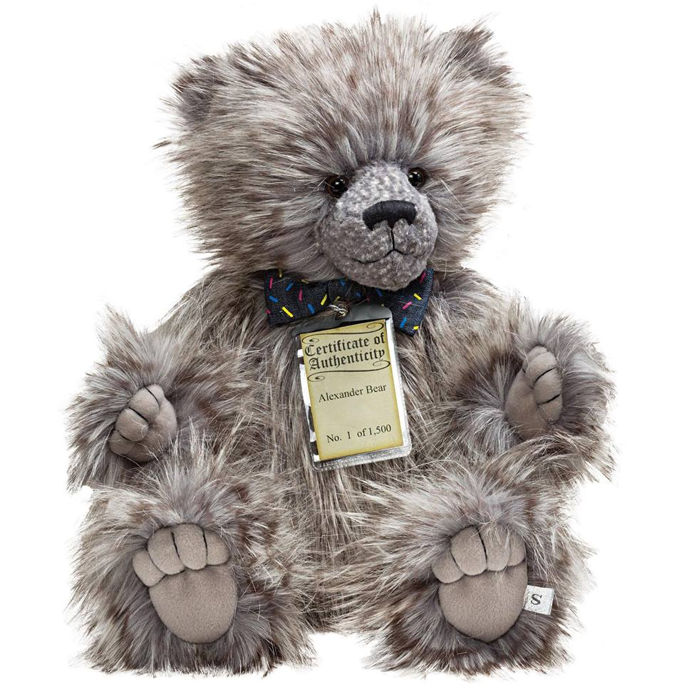 Alexander Silver Tag® Bear - Scentiments