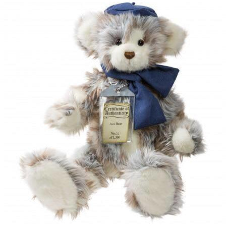 Ava Silver Tag® Bear - Scentiments