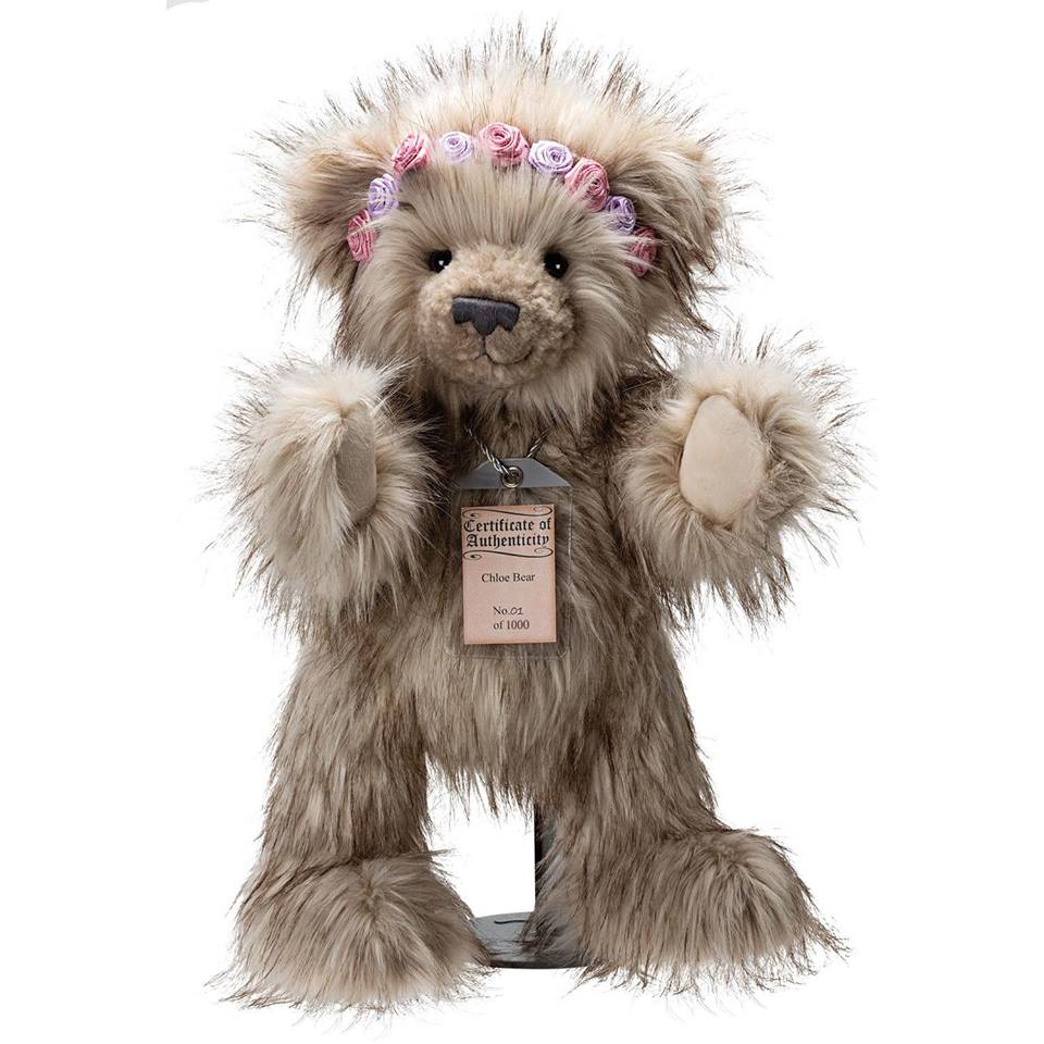 Chloe Silver Tag® Bear - Scentiments