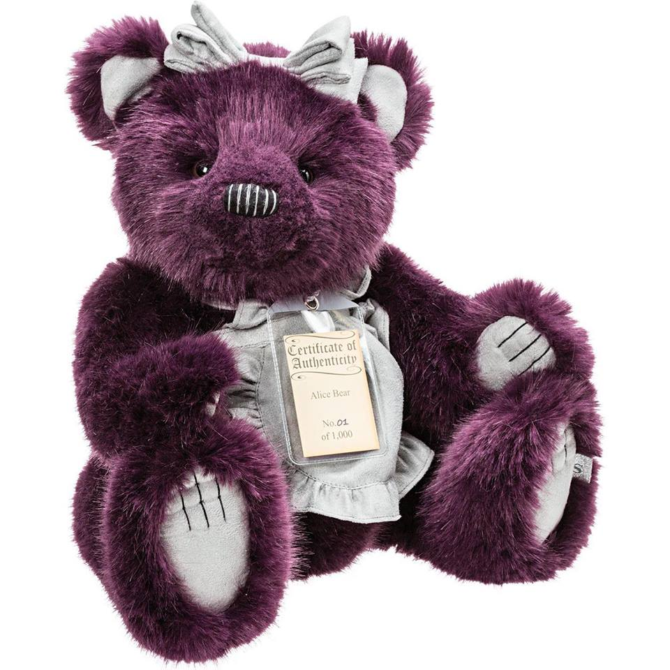 Alice Silver Tag® Bear - Scentiments