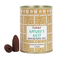 Nature's Nest Backflow Incense Cones