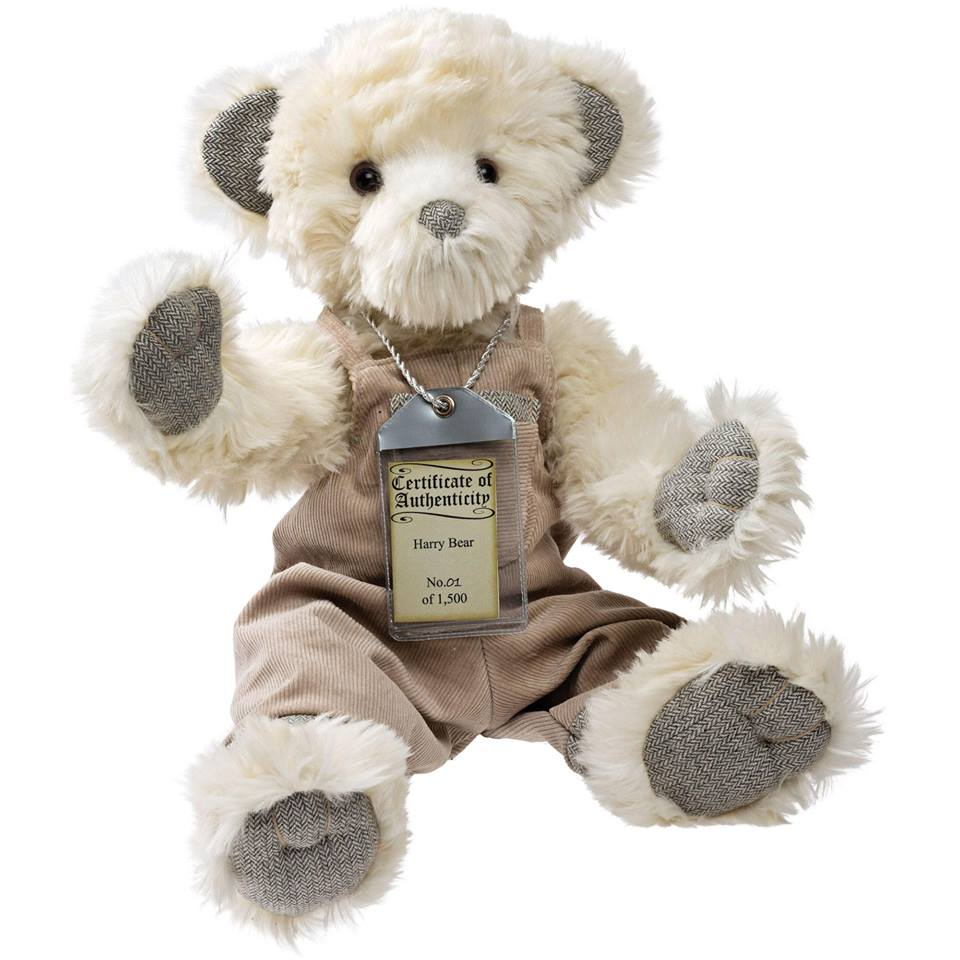 Harry Silver Tag® Bear - Scentiments