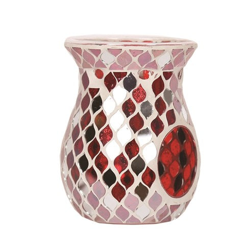 Red Mirror Tea Light Burner