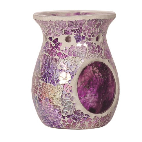 Purple Crackle Wax Melt Warmer | All Products | Scentiments | Scentiments