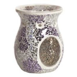 Purple & Silver Wax Melt Warmer | All Products | Scentiments | Scentiments