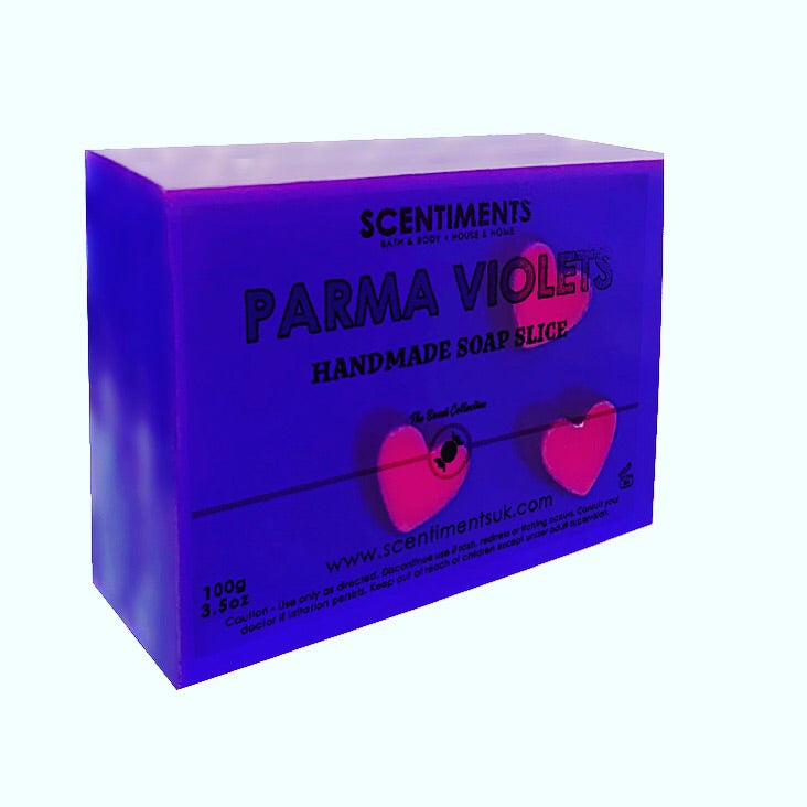 Parma Violet Soap Slice - Scentiments