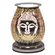 Oval 3D Buddha Touch  Electric Wax Melt Burner | Electric Melt Warmer | Candle Warmers Etc. | Scentiments