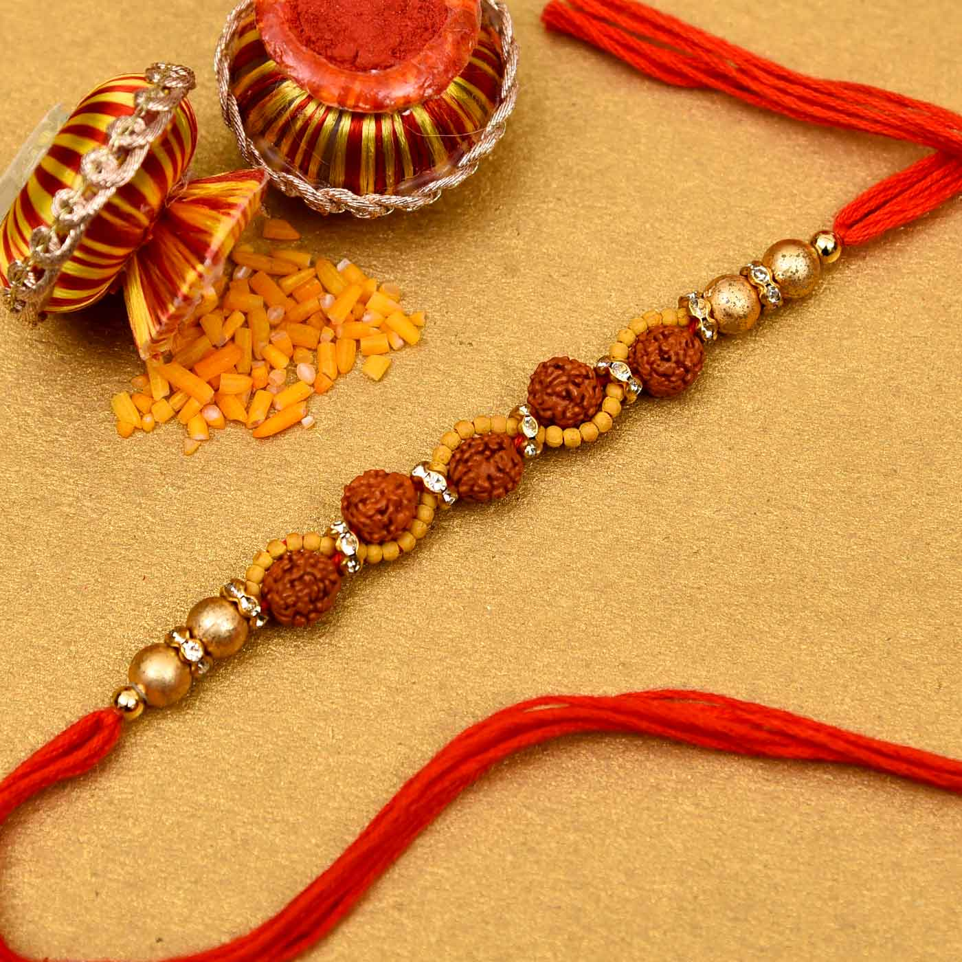 Stunning Beaded Rakhi