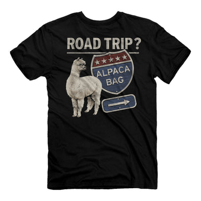 New - Road Trip? Alpaca Bag Tee