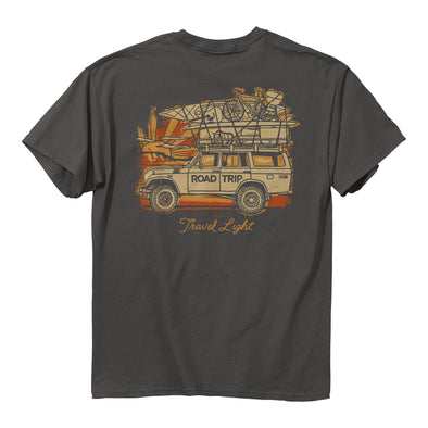 Charcoal - Travel Light Tee