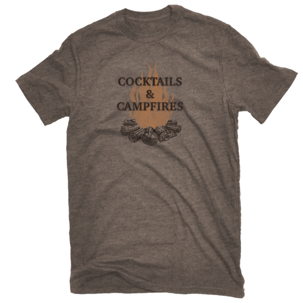 Cocktails and Campfires Tee