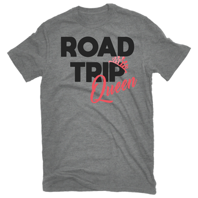 Ash Heather - Road Trip Queen Tee