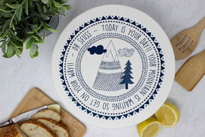 Your Green Kitchen - Unwaxed Mountain 1 Bowl Cover