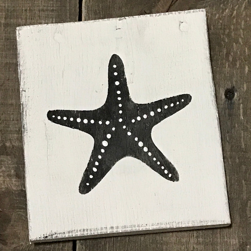 Anchored Soul Designs - Starfish sign