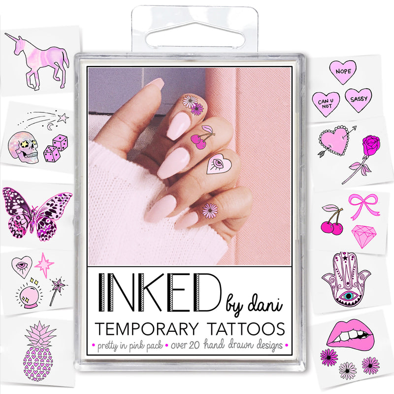 INKED by Dani - Pretty in Pink Pack