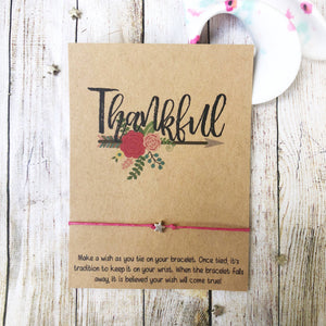 Wishlets - Thankful (Floral Arrow)