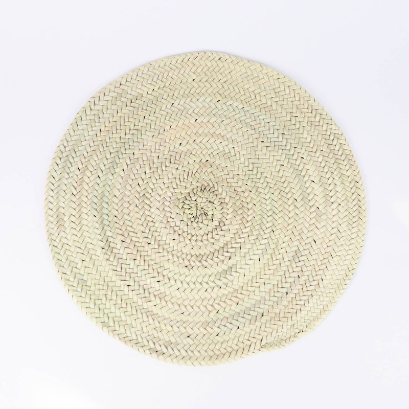 SOCCO WHOLESALE - Straw Round Placemat