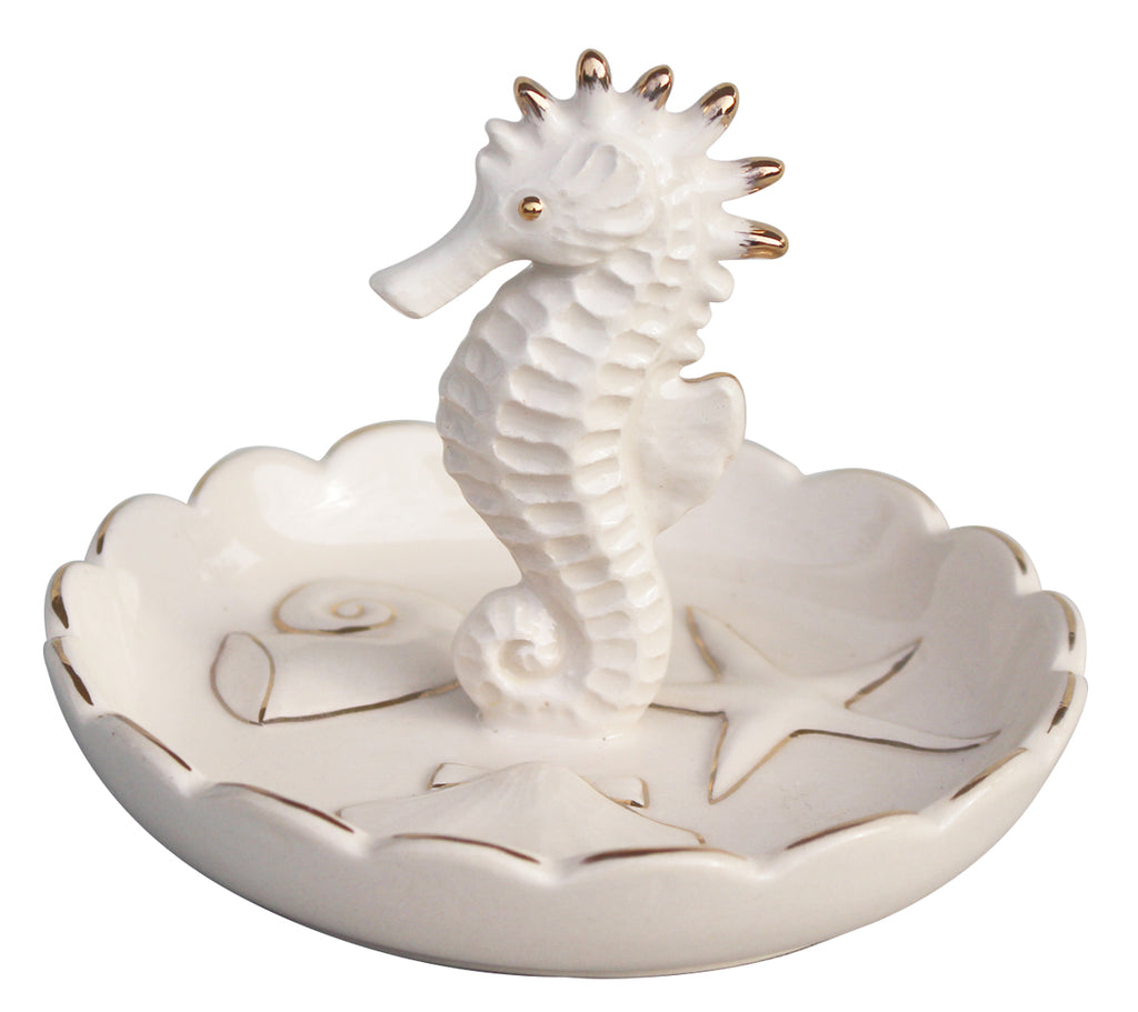 Blue Sky Clayworks - Sea Horse Ring Holder
