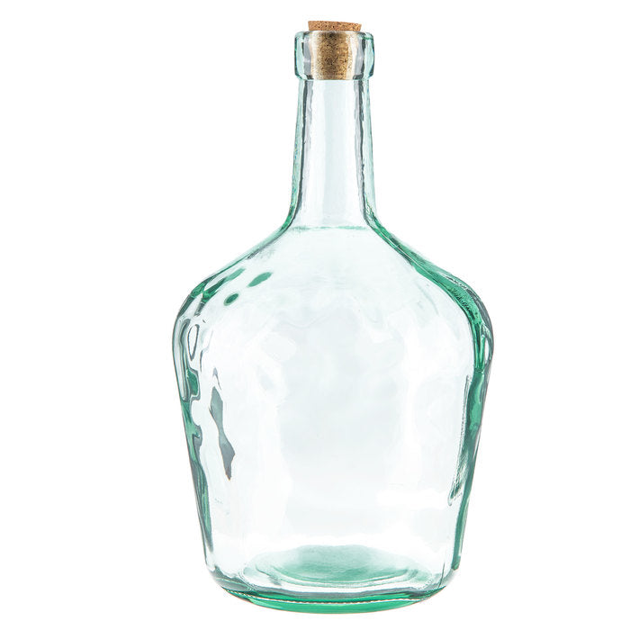 Carboy Glass Bottle with Cork - Large