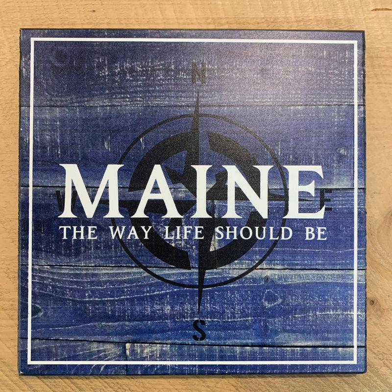 """Maine the Way Life Should Be"" on Vintage Square"
