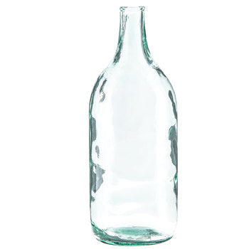 Oval Carboy Glass Vase