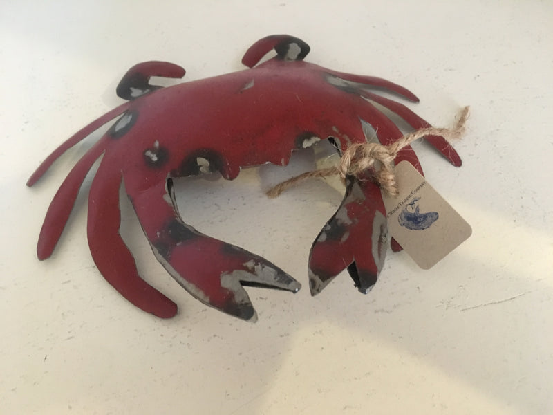 Reclaimed Metal Crab