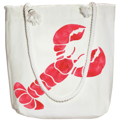 Lobster On The Go Tote 15x11