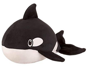 Squishy Squad Orca Killer Whale Stuffed Animal