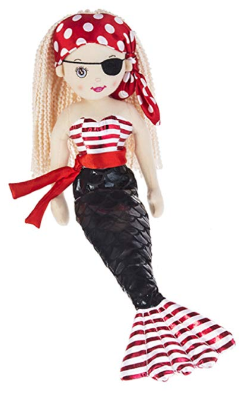 Pirate Shelley Stuffed Toy - Ganz
