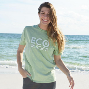 Unisex Eco-Warrior Tee - Green - 30A