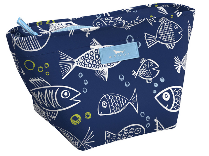Crown Jewels Makeup Bag - One Fish Blue Fish